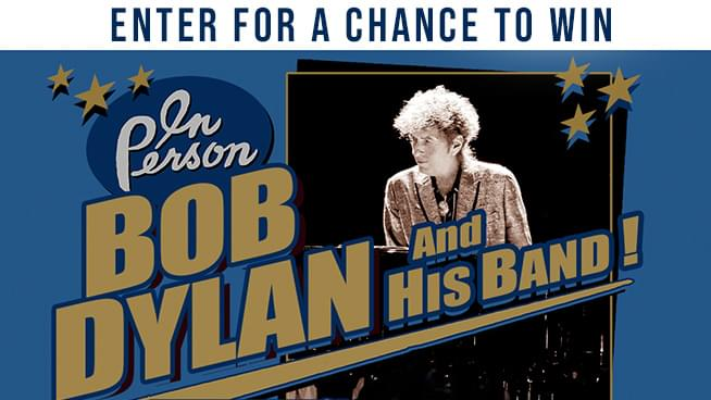 Try To Win Tickets To Bob Dylan