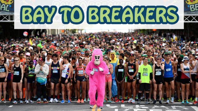 September 20 – October 2, 2020: Bay to Breakers Virtual Run!