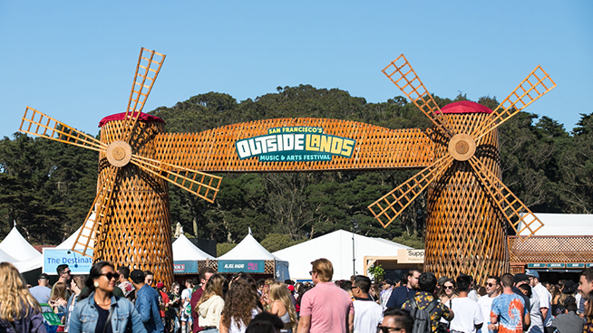 August 7-9: Outside Lands