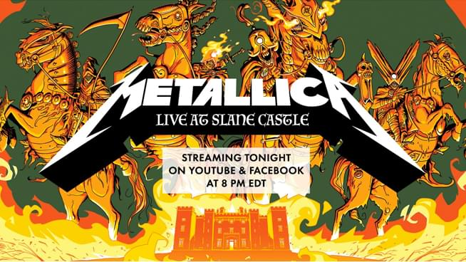 Relive Metallica Live at Slane Castle