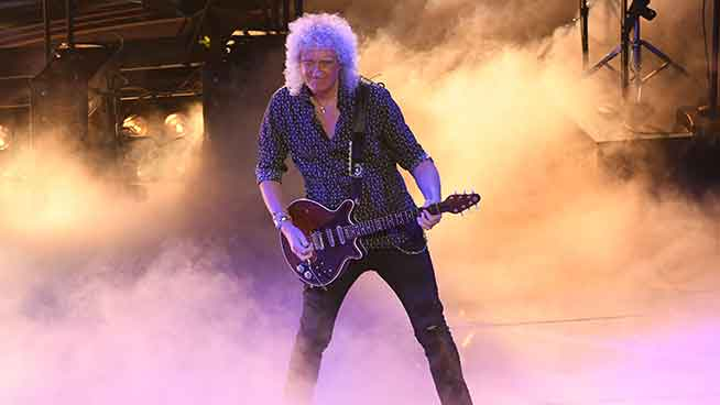 Brian May teaches you guitar for some of your favorite Queen songs