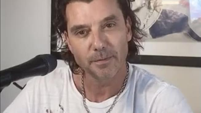 Watch Gavin Rossdale's five song Instagram Live concert from his home