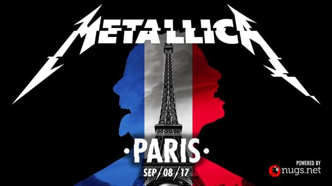 Relive Metallica's European WorldWired tour live from Paris 2017