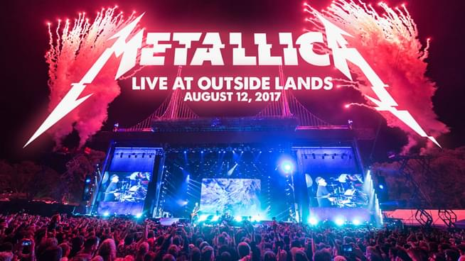 Metallica celebrates Golden Gate Parks 150th birthday by streaming it's 2017 Outside Lands performance