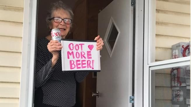 Coors Light delivers beer to 90-year-old woman who pleaded for beer during lockdown