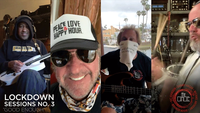 "Sammy Hagar & The Circle cover Van Halen's ""Good Enough"" in latest lockdown session"