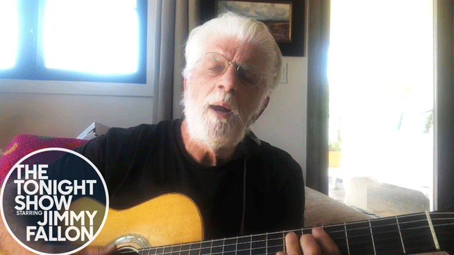 "Michael McDonald preforms acoustic version of ""On My Own"""