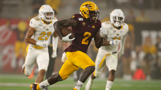49ers trade up six spots in first round for Arizona State dynamo Brandon Aiyuk