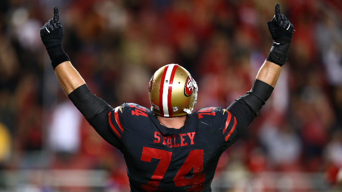 Joe Staley thanks 49ers, explains decision to retire in farewell message