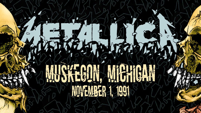 Relive the Black Album era with Metallica live from 1991 Muskegon, Michigan