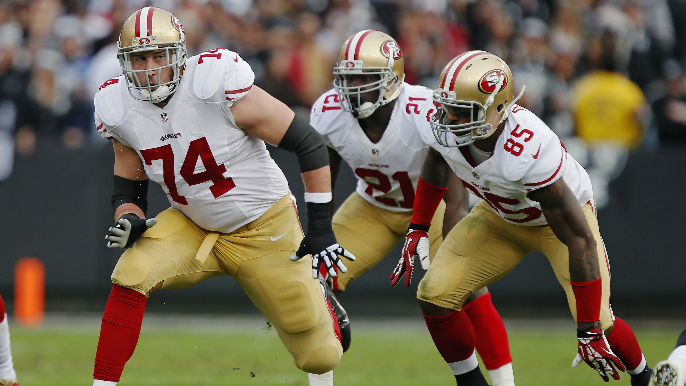 Joe Staley discusses impact of 'lifelong friend' Frank Gore on his career