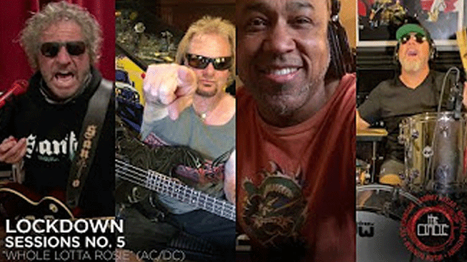 Sammy Hagar and The Circle cover AC/DC in latest Lockdown Session