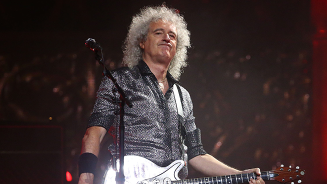 Brian May Hospitalized After Tearing His Butt in Gardening Accident