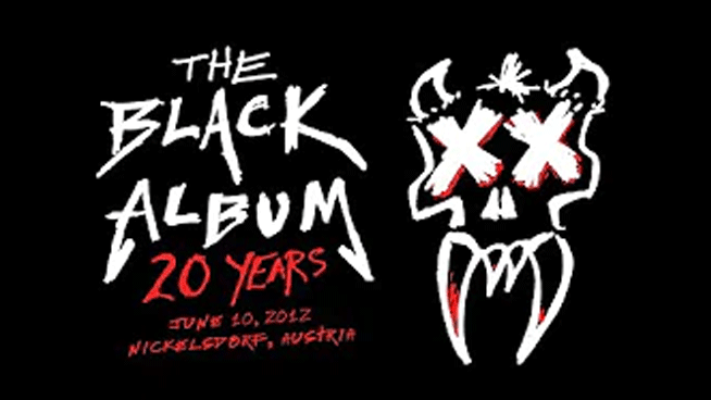 Relive the entire 20th Anniversary Black Album live from Austria 2012
