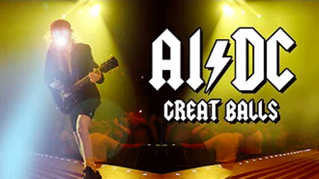 "Artificial Intelligence programs new AC/DC song ""Great Balls"""
