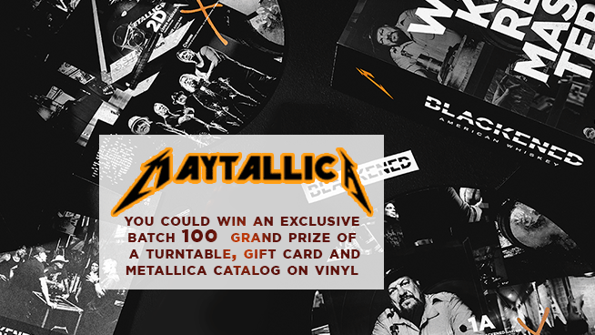 MAY-Tallica Weekend Contest