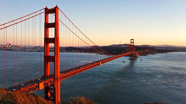 Golden Gate Bridge serenades Bay Area residents with sounds reminiscent of U2
