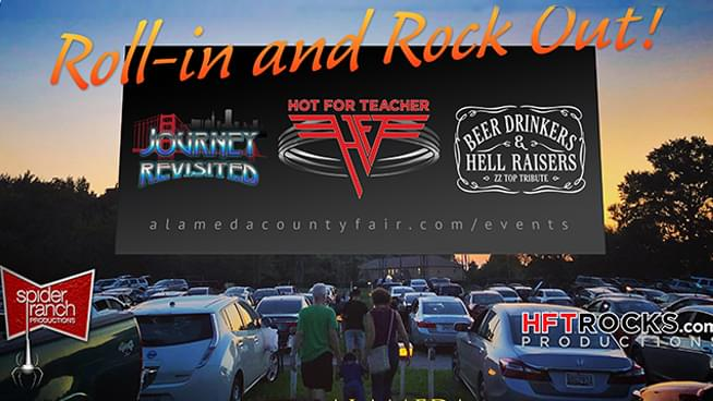 Hot For Teacher, Journey Revisited and Beer Drinkers & Hell Raisers to headline first drive in concert this weekend