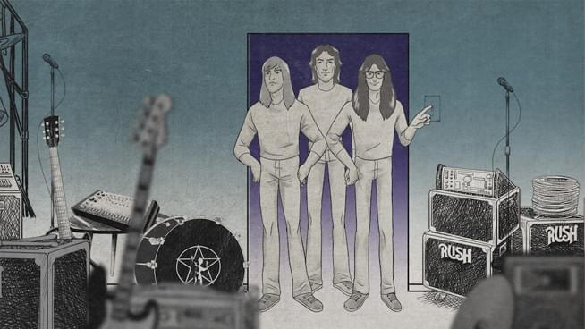 "Rush releases new animated video for ""The Spirit Of Radio"""
