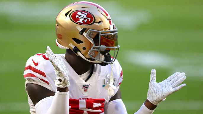 Deebo Samuel suffers foot fracture in group throwing session with 49ers players