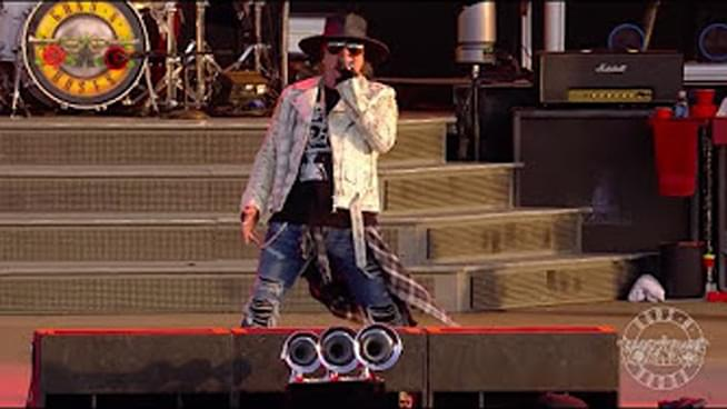 Guns N' Roses releases festival footage from 2018
