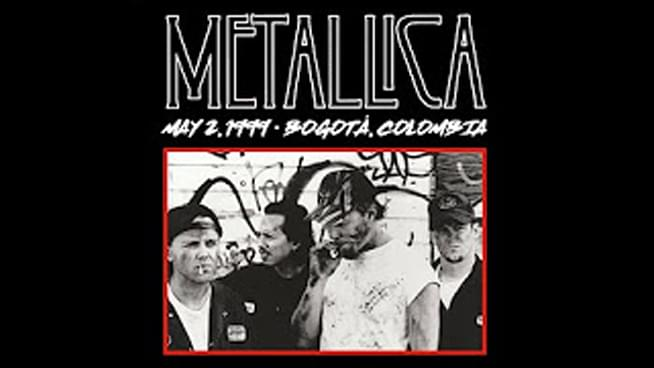 #MetallicaMonday takes on a trip back to Colombia in 1999