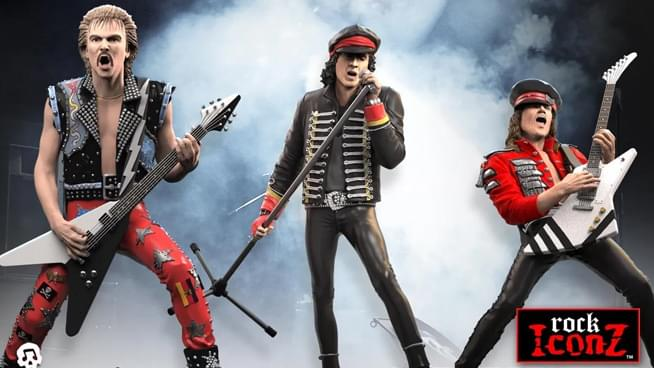 Limited edition Scorpions collectible figures are available now for pre-order