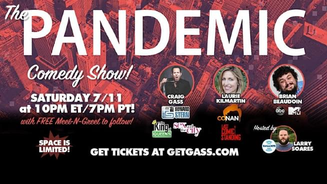 Lamont & Tonelli Talk To Craig Gass About The Pandemic Comedy Show