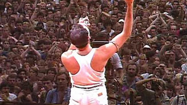 Decades later, Queen's Live Aid performance remains one of the most iconic in rock history