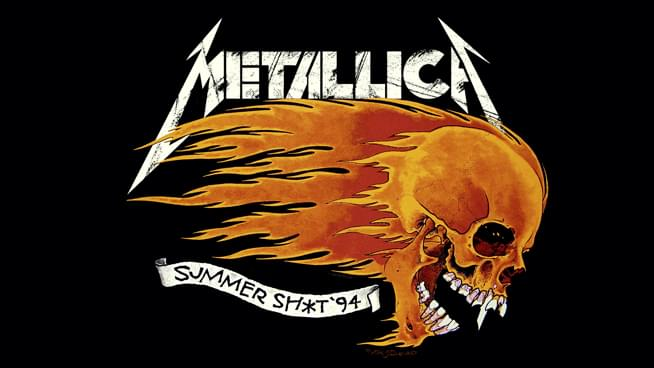 Relive Metallica's Summer Sh*t 1994 show live from Shoreline Amphitheater