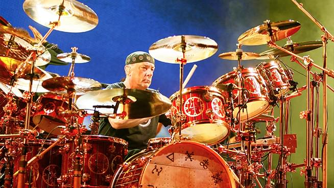 Lose yourself in this Neil Peart isolated drum track
