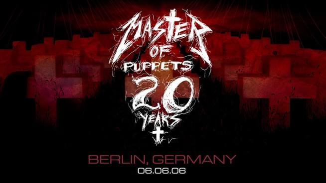 #MetallicaMondays goes Live In Berlin from 2006 to celebrate the then 20th anniversary of Master Of Puppets