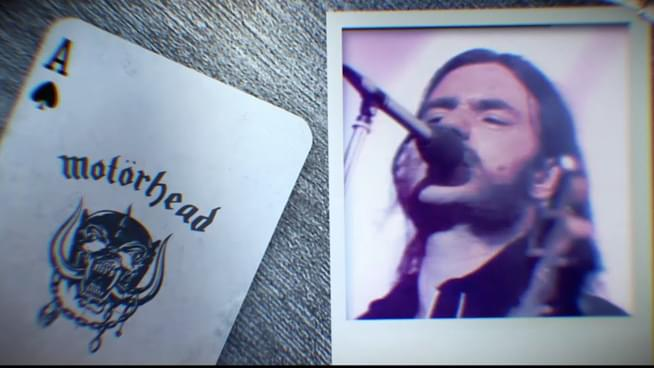 """Listen to Motörhead's special 40th Anniversary live version release of """"Ace Of Spades"""""""