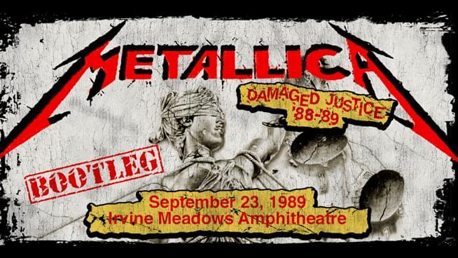 #MetallicaMondays travels to '89 Damaged Justice tour in Irvine