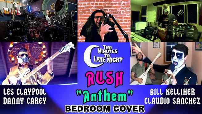 """""""Anthem"""" by Rush: Covered by members of Tool, Primus, Mastodon, Coheed and Cambria"""