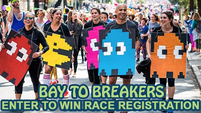 You Could Win A Race Registration For The Bay To Breakers Virtual Run