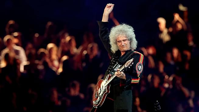 Queen's Brian May thanks firefighters who saved his home