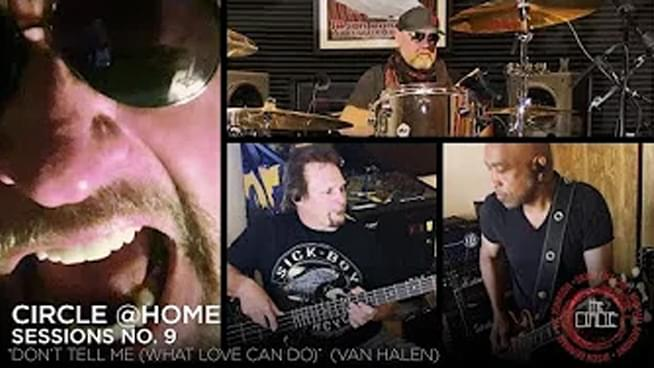 "Sammy Hagar & The Circle cover Van Halen classic ""Don't Tell Me (What Love Can Do)"""
