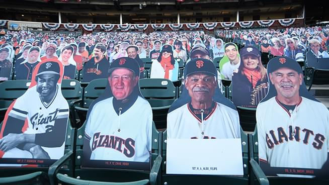 Things Look Different At San Francisco Giants Games This Season