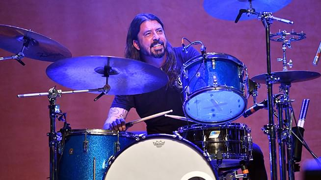 Superfan gets Dave Grohl to jam with him on Instagram Live
