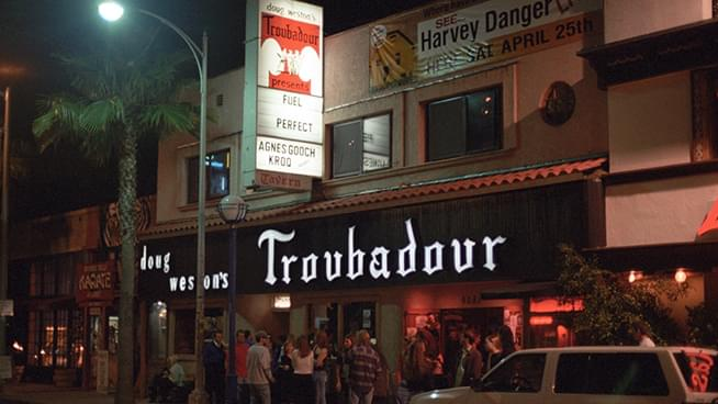 Can Elton John save The Troubadour in LA?