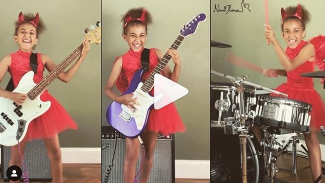 Child Rock Drummer Nandi Covers Metallica