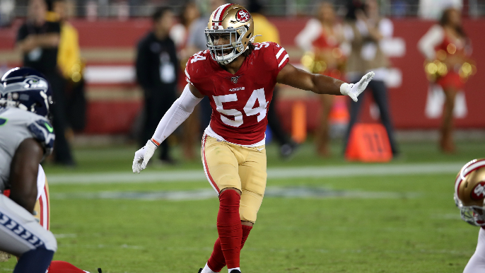 49ers place Fred Warner on reserve/COVID-19 list