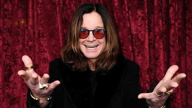 Ozzy Osbourne has gone grey!