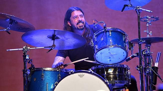 Epic Drum-Off: Dave Grohl Accepts Challenge to battle 10 Year Old Child Drummer