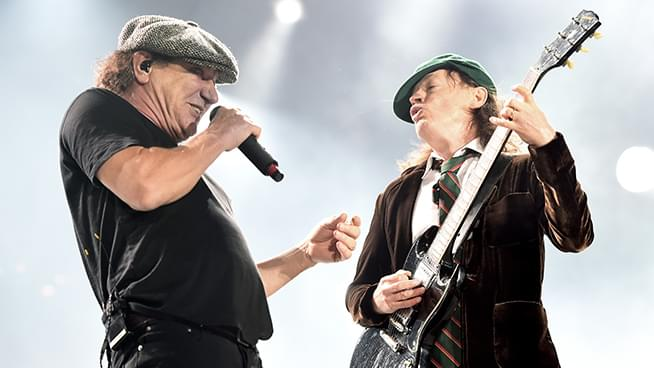 """AC/DC's Brian Johnson shares """"Angus is safe and well"""" with Joe Walsh"""