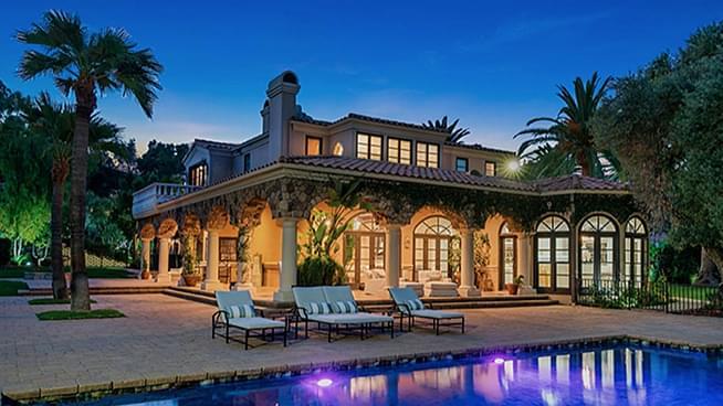 Bret Michael's Stunning Los Angeles Mediterranean Villa Is on the Market