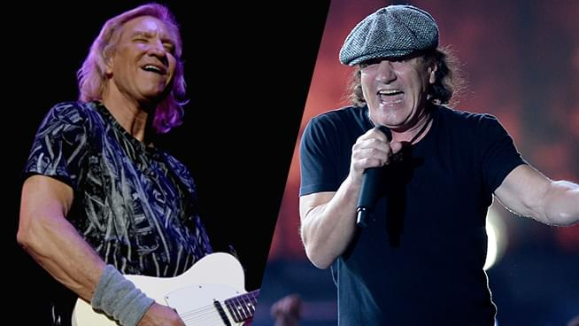 Are Joe Walsh and Brian Johnson Forming a Supergroup?