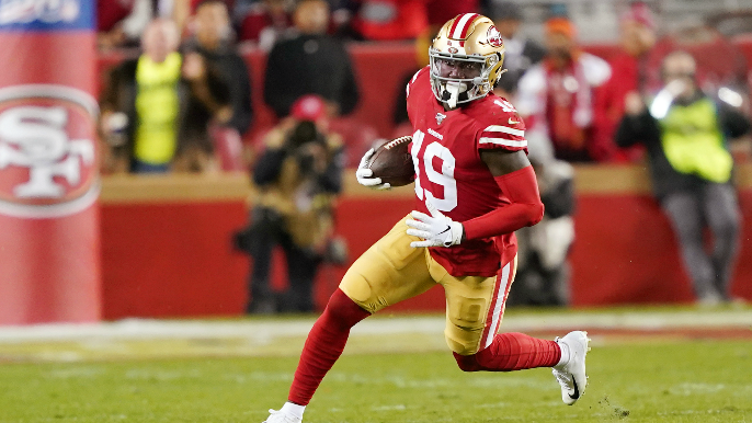 Deebo Samuel to be placed on injured reserve, and 49ers have two practice squad promotions