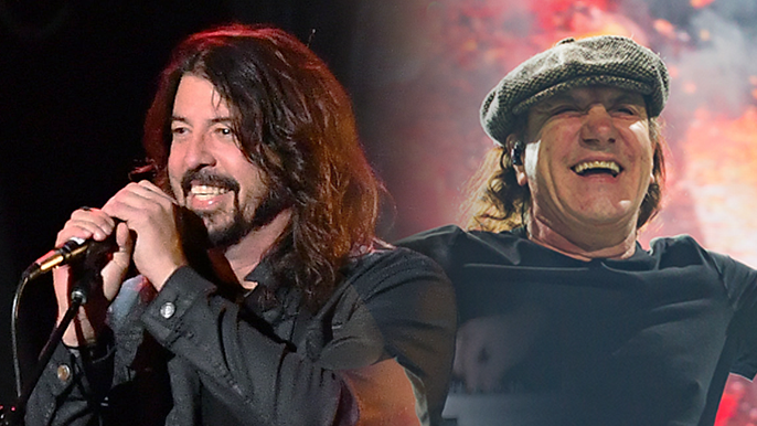 Dave Grohl, Brian Johnson Team up for Feel-Good Music Documentary
